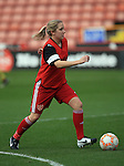 Sheffield United Ladies' Rachel Ruddach warms up prior to kick off during the FA Women's Cup First Round match at Bramall Lane Stadium, Sheffield. Picture date: December 4th, 2016. Pic Clint Hughes/Sportimage