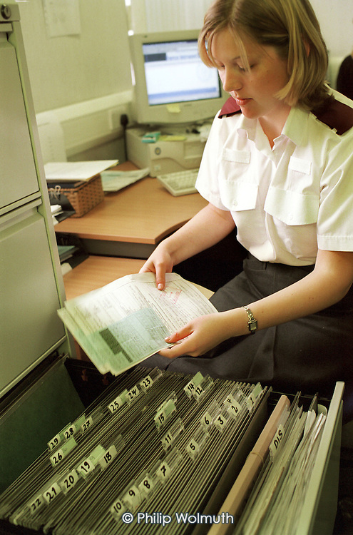 Civilian West Midlands Police Service Data Handler at Thornhill Road Police Station, Handsworth, Birmingham. Not a member of a trade union.