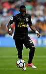 Christian Atsu of Newcastle United during the premier league match at the John Smith's Stadium, Huddersfield. Picture date 20th August 2017. Picture credit should read: Simon Bellis/Sportimage