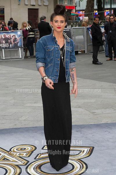 Katie Waissel arriving for the Rock Of Ages Premiere, Odeon Leicester Square, London. 10/06/2012 Picture by: Simon Burchell / Featureflash