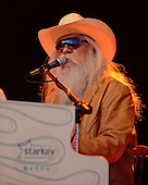 BOCA RATON FL - JANUARY 18 : Leon Russell performs at The Sunshine Blues Festival at The Mizner Park Ampitheatre on January 18, 2014 in Boca Raton, Florida. : Credit Larry Marano (C) 2014