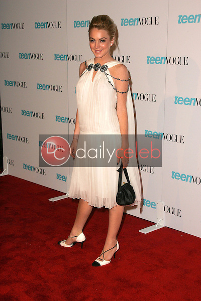 Lindsay Lohan<br /> At the release party for the Teen Vogue Young Hollywood Issue, The Hollywood Roosevelt Hotel, Hollywood, CA 09-20-05<br /> David Edwards/DailyCeleb.Com 818-249-4998