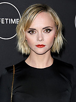 09 January 2019 - Hollywood, California - Christina Ricci. Lifetime Winter Movies Mixer held at The Andaz, Studio 4. Photo Credit: Birdie Thompson/AdMedia