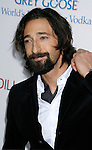 "HOLLYWOOD, CA. - November 24: Actor Adrien Brody arrive on the red carpet of the Los Angeles Premiere of ""Cadillac Records"" at The Egyptian Theater on November 24, 2008 in Hollywood, California."