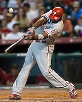 Howard, Ryan 5914.jpg Philadelphia Phillies at Houston Astros. Major League Baseball. September 6th, 2009 at Minute Maid Park in Houston, Texas. Photo by Andrew Woolley.