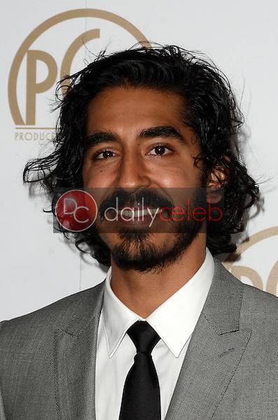 Dev Patel<br /> at the 2017 Producers Guild Awards, Beverly Hilton Hotel, Beverly Hills, CA 01-28-17<br /> David Edwards/DailyCeleb.com 818-249-4998