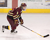 Matt Verdone - The Boston College Eagles and Ferris State Bulldogs tied at 3 in the opening game of the Denver Cup on Friday, December 30, 2005, at Magness Arena in Denver, Colorado.  Boston College won the shootout to determine which team would advance to the Final.