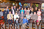 90TH BIRTHDAY: Tom Nealon, Oakpark, Tralee (seated centre) having a great time celebrating his 90th birthday with family and friends at the Meadowlands hotel, Tralee on Saturday.