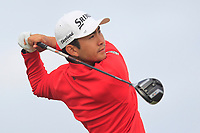Soomin Lee (KOR) on the 2nd tee during Round 1 of the Dubai Duty Free Irish Open at Ballyliffin Golf Club, Donegal on Thursday 5th July 2018.<br /> Picture:  Thos Caffrey / Golffile