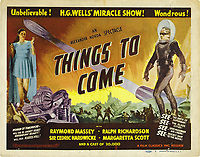 Things to Come (1936) <br /> Lobby card<br /> *Filmstill - Editorial Use Only*<br /> CAP/KFS<br /> Image supplied by Capital Pictures