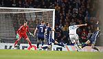 06.09.2019 Scotland v Russia, European Championship 2020 qualifying round, Hampden Park:<br /> Artem Dzyuba scores