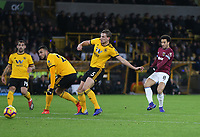 West Ham United's Felipe Anderson with a first half shot<br /> <br /> Photographer Rob Newell/CameraSport<br /> <br /> The Premier League - Wolverhampton Wanderers v West Ham United - Tuesday 29th January 2019 - Molineux - Wolverhampton<br /> <br /> World Copyright © 2019 CameraSport. All rights reserved. 43 Linden Ave. Countesthorpe. Leicester. England. LE8 5PG - Tel: +44 (0) 116 277 4147 - admin@camerasport.com - www.camerasport.com