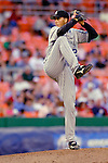 12 June 2006: Jeff Francis, pitcher for the Colorado Rockies, winds up on the mound during a game against the Washington Nationals at RFK Stadium, in Washington, DC. The Rockies defeated the Nationals 4-3 in the first game of the four game series...Mandatory Photo Credit: Ed Wolfstein Photo..