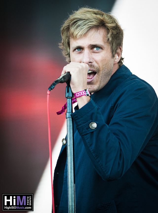 AWOLNATION performs at the 2014 Voodoo Music Experience in New Orleans, LA.