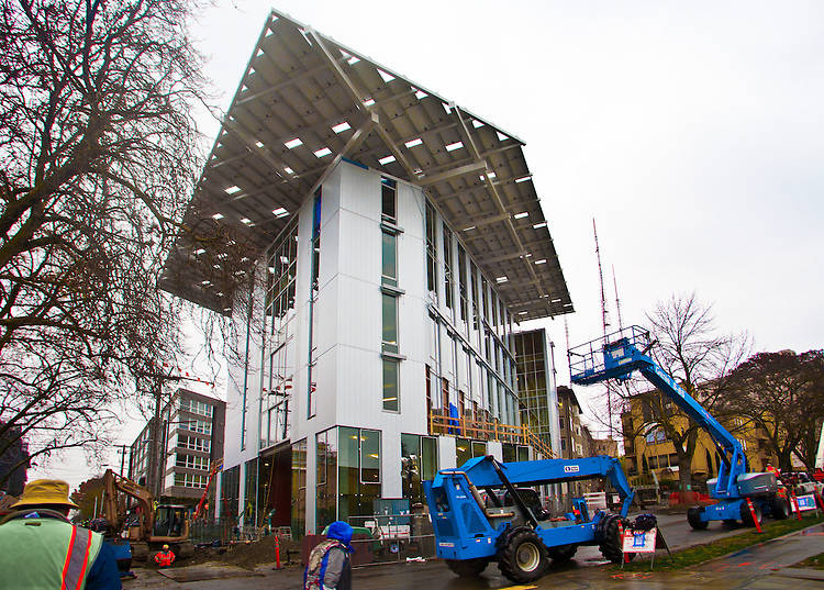 Seattle, Bullitt Center, green building technologies, greenest building in the world, The Bullitt Foundation, Capitol Hill, Pacific Northwest, Washington State, USA,