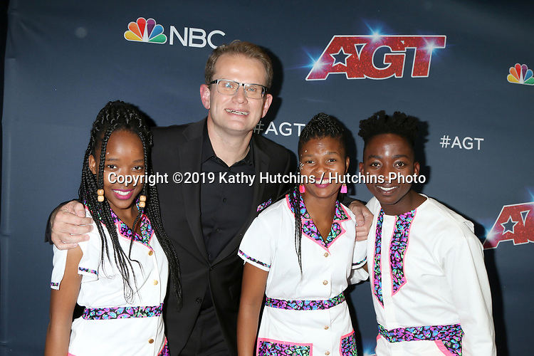 "LOS ANGELES - SEP 18:  Ndlovu Youth Choir at the ""America's Got Talent"" Season 14 Finale Red Carpet at the Dolby Theater on September 18, 2019 in Los Angeles, CA"
