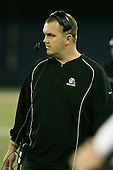 January 5th, 2008:  Ball State offensive line coach John Powers during the fourth quarter of the International Bowl at the Rogers Centre in Toronto, Ontario Canada...Rutgers defeated Ball State 52-30.  ..Photo By:  Mike Janes Photography