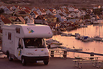 Europe, SWE, Sweden, Bohuslan, Smoegen, Camper, Mobile home, Tourists, Break....[ For each utilisation of my images my General Terms and Conditions are mandatory. Usage only against use message and proof. Download of my General Terms and Conditions under http://www.image-box.com or ask for sending. A clearance before usage is necessary...Material is subject to royalties. Each utilisation of my images is subject to a fee in accordance to the present valid MFM-List...Contact | archive@image-box.com | www.image-box.com ]