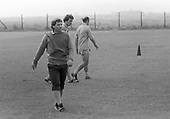 Blackpool FC training August 1980