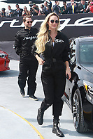 NEW YORK, NY - SEPTEMBER 12: Candice Swanepoel and  Derek Blasberg at Kia Race the Runway at  Pier 92/94 on September 12, 2017 in New York City. <br /> CAP/MPI99<br /> &copy;MPI99/Capital Pictures