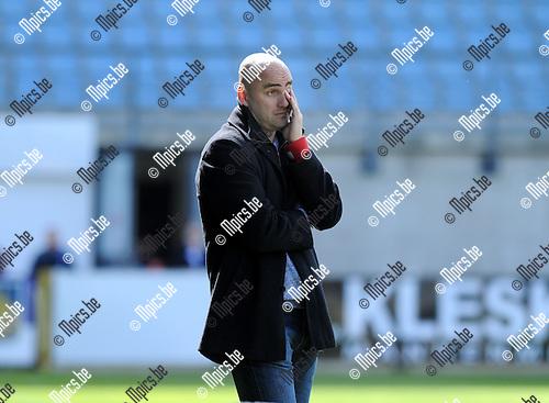 2013-04-28 / Voetbal / seizoen 2012-2013 / Westerlo-Oostende / Vedran Pelic..Foto: Mpics.be