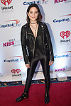 Chloe Angelides at 103.5 KISS FM's Jingle Ball 2015 presented by Capital One at Allstate Arena in Chicago, Illinois.