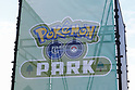 A signboard of Pokemon GO PARK in Yokohama Minatomirai on August 9, 2017, Yokohama, Japan. Hundreds of Pokemon GO app fans gathered at the special Pokemon GO PARK, a 2km area including special PokeStops and PokemonGyms, to collect characters. Minatomirai holds an annual Pokemon event including a parade of 1500 Pikachu through the area and this year has added Pokemon GO attractions. Pokemon GO PARK is open from August 9 to 15. (Photo by Rodrigo Reyes Marin/AFLO)