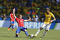 (L-R) Marcelo Diaz (CHI), Neymar (BRA), JUNE 28, 2014 - Football / Soccer : FIFA World Cup Brazil 2014 round of 16 match between Brazil and Chile at the Mineirao Stadium in Belo Horizonte, Brazil. (Photo by AFLO)
