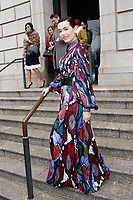 NEW YORK, NY - FEBRUARY 11: Camilla Belle  seen at Carolina Herrera NYFW 2019 on February 11, 2019 in New York City. Credit: DC/MediaPunch