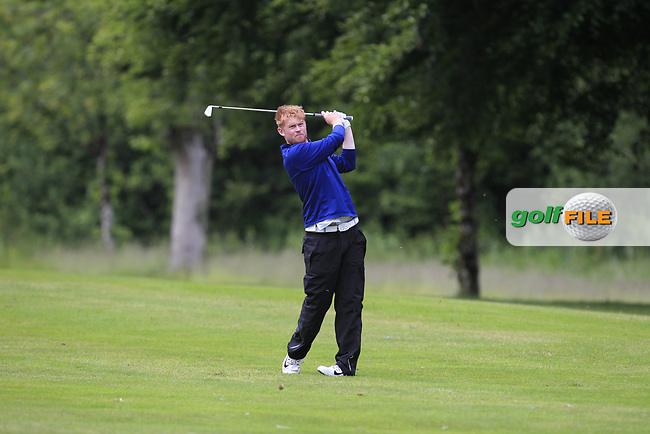 Eanna Griffin (Waterford) on the 16th fairway during Round 4 of the Connacht Stroke Play Championship at Athlone Golf Club Sunday 11th June 2017.<br /> Photo: Golffile / Thos Caffrey.<br /> <br /> All photo usage must carry mandatory copyright credit     (&copy; Golffile | Thos Caffrey)