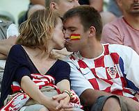 EURO 2012 - POLAND - Gdansk - 18 JUNE 2012 - Croatia vs Spain third match group C.