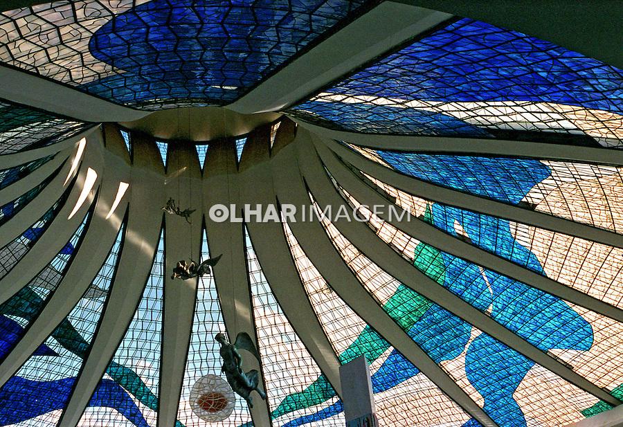 Teto da Catedral de Brasília. 2001. Foto de Juca Martins.