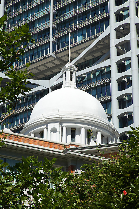 Former French Mission Cupola, With HSBC At Rear, Central.
