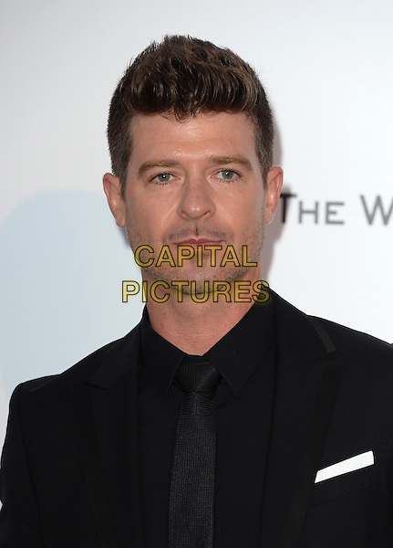 Robin Thicke - arrivals at amfAR&rsquo;s Cinema Agains Aids Gala at Hotel du Cap, Antibes during the Cannes Film Festival on May 21, 2015 in Cap d'Antibes, France.<br /> CAP/CAS<br /> &copy;Bob Cass/Capital Pictures