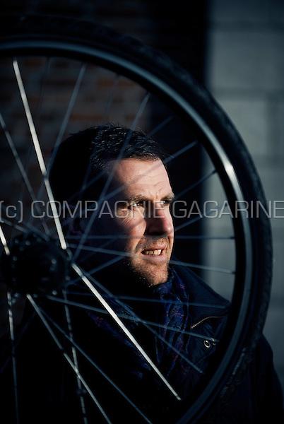 Former Belgian bicycle racer Erwin Vervecken (Belgium, 17/01/2012)