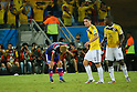 Keisuke Honda (JPN), <br /> JUNE 24, 2014 - Football /Soccer : <br /> 2014 FIFA World Cup Brazil <br /> Group Match -Group C- <br /> between Japan 1-4 Colombia <br /> at Arena Pantanal, Cuiaba, Brazil. <br /> (Photo by YUTAKA/AFLO SPORT)