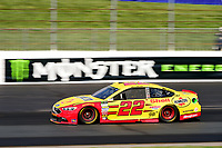 July 16, 2017 - Loudon, New Hampshire, U.S. - Joey Logano, Monster Energy NASCAR Cup Series driver of the Shell Pennzoil Ford (22), races at the NASCAR Monster Energy Overton's 301 race held at the New Hampshire Motor Speedway in Loudon, New Hampshire. Eric Canha/CSM