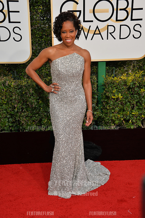 Regina King at the 74th Golden Globe Awards  at The Beverly Hilton Hotel, Los Angeles USA 8th January  2017<br /> Picture: Paul Smith/Featureflash/SilverHub 0208 004 5359 sales@silverhubmedia.com