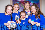 St Brigids Presentation students l-r: Emma Quirke, Lorna Breen, Shanua White, Katelyn Kerin and Eadaoin O'Donoghue with the crafts they have made to sell at the Craft market sale on February 1st in the school