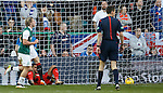 Wes Foderingham after losing the second goal