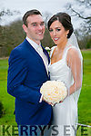 Mairead Desmond, Rathmore, daughter of Denis and Judy Desmond, and Shane Walsh, Castleisland, son of Gerard and Catherine Walsh, were married at St. Joseph's Church Rathmore by Fr. Galvin on Friday 11th March 2016 with a reception at Ballyseede Castle Hotel