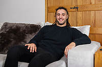 Pictured: Josh Navidi at his home in Boverton, Llantwitt Major, Cardiff, Wales, UK. Friday 11 January 2019