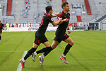 Augsburgs Ruben Vargas #16 und Augsburgs Florian Niederlechner #7<br /><br />1. Fussball Bundesliga 33. Spieltag - Fortuna Duesseldorf vs. FC Augsburg 20.06.2020<br /><br /><br /><br />(Foto: Sebastian Sendlak / wave.inc/POOL/ via Meuter/Nordphoto)<br /><br />DFL regulations prohibit any use of photographs as image sequences and/or quasi-videos.<br /><br />EDITORIAL USE ONLY<br /><br />National and international News-Agencys OUT.