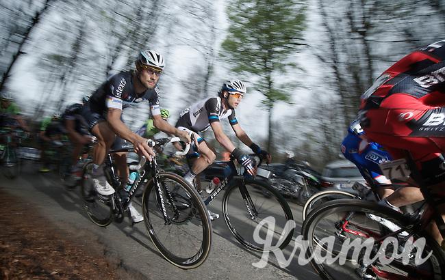 A focused Tom Boonen (BEL/OPQS) on top of the Kanarieberg<br /> <br /> Ronde van Vlaanderen 2014