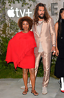 "LOS ANGELES, USA. October 22, 2019: Alfre Woodard & Jason Momoa at the premiere of AppleTV+'s ""SEE"" at the Regency Village Theatre.<br /> Picture: Paul Smith/Featureflash"