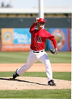 Rich Thompson - Los Angeles Angels - 2009 spring training.Photo by:  Bill Mitchell/Four Seam Images