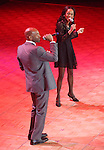 Brandon Victor Dixon, Valisia Lekae (Motown The Musical)   during the presentation of the 2013 Actors Fund Annual Gala honoring Robert De Niro at the Mariott Marquis Hotel in New York on 4/29/2013...