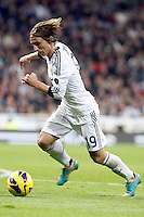 Real Madrid CF vs Athletic Club de Bilbao (5-1) at Santiago Bernabeu stadium. The picture shows Luca Modric. November 17, 2012. (ALTERPHOTOS/Caro Marin) NortePhoto