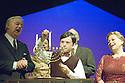 Caroline or Change. Book and Lyrics by Tony Kushner. With Ian Lavender as Grandpa Gellman,,Perry Millward as Noah Gellman, Valda Aviks as Grandma Gellman.  Opens at the Lyttleton  Theatre on 19/10/06 CREDIT Geraint Lewis