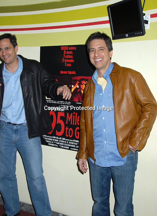 """Tom Caltabiano and Ray Romano ..at The New York Screening of """" 95 Miles to Go"""" starring..Ray Romano and Tom Caltabiano on March 29, 2006 at ..The ImaginAsian Theatre. ..Robin Platzer, Twin Images"""